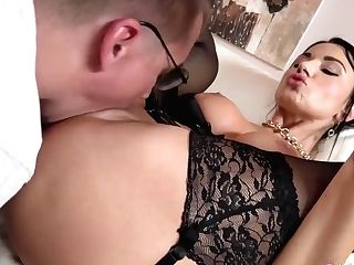 Ania Kinski And Steve Holmes - Cums From Feet Up Gash Fucking And Five Starlet Cuni