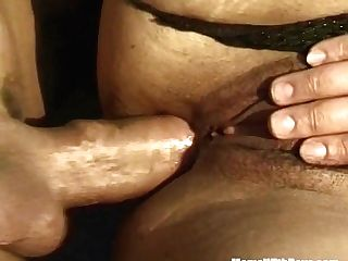 Black-haired Cougar In Distress Assfuck Rescue Fucked Outdoors