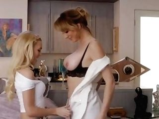 Honies - Alex Grey Instructs Brett Rossi The Hard Lessons