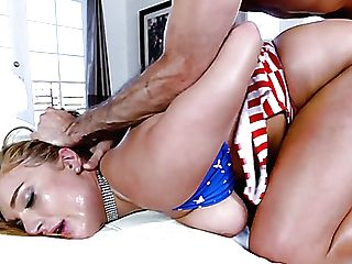 Alluring Big Boobed Milfie Sexpot Skylar Snow Gets Penetrated Rear End