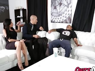 Huge-chested Jaclyn Taylor Getting Pounded By Her Big Dicked Butler