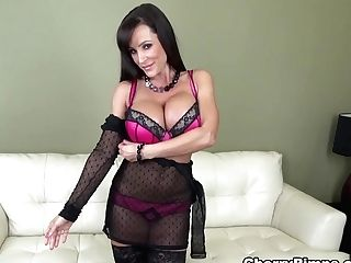 Incredible Pornographic Star Lisa Ann In Greatest Brown-haired, Big Tits Adult Movie