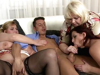 Group Fuck-a-thon With Matures Moms And Lucky Sonny
