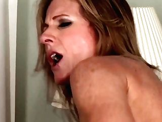 Wankz- Cougar Jade Jamison Loves Her Warm Facial Cumshot