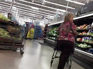 Phat Phat Ass Milky Girl Booty Gilf In Dark-skinned Pants