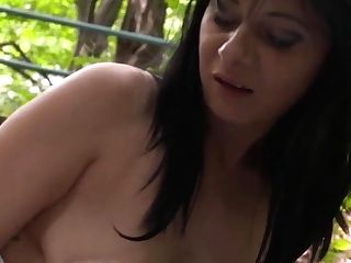 German Mom Likes It Big And Public