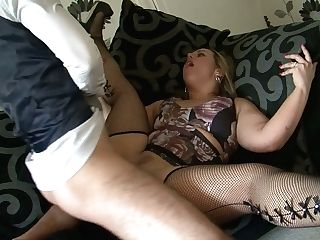 Chubby Bitch Pamela London Loves Eating Hard Pole Before Steamy And Strenuous Pounding