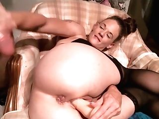 Cougar Faux-cock Squirt
